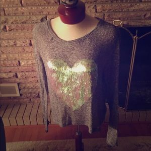 PINK by Victoria Secret Sequin Thermal Sz XS NWOT!